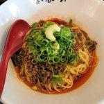 107092959 - 汁無し坦々麺(芳醇醤油4辛)