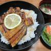 筑前 - 料理写真:【うな丼(松) 3500円】(肝吸い・漬物付)