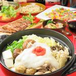 Dining85 - 冬季限定 とろろ明太鍋