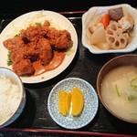 直寿司 - トンカツ定食だったと思う。