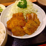 とんかつ石垣亭 - MIX定食