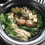 大幸園 - 野菜・豆腐・キノコを追加