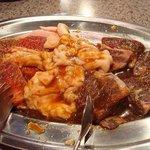 焼肉 紅家 - 焼肉紅家 ハラミ、テッチャン、カルビ