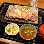 贅 - 「サーロインステーキ(200g)」1300円