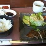 近江牛創作料理 久ぼ多屋 - 近江牛あみ焼き御膳税抜き2300円。