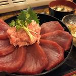 Hibinoshijousengyohamayakisenta - 生まぐろ丼