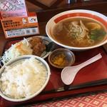 味蔵 - (魚粉入り)醤油ラーメンセット