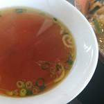 107106770 - (感動する美味しすぎたセットの)スープ