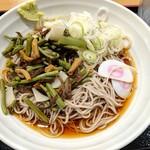 そばいち - 【2019/5】山菜そば