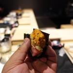 姫沙羅 - 大量の雲丹と鮪