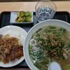 たら福 - 料理写真:本日のおすすめ ネギ塩もやしラーメンセット  豚照り焼き丼