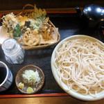 雲水 - うどん、野菜天ぷら
