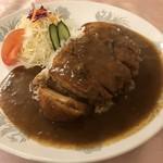 仙中里 - 料理写真:特厚カツカレー