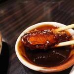 とんかつ 比呂野 - 岡崎の赤味噌。