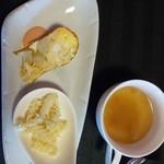 フュージョンダイニング 勇庵 - 料理写真:前菜&スープ