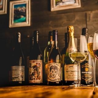 「オーガニック」中心のワインリスト