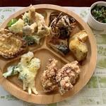 そ・ら・らレストラン - 天ぷら、唐揚げなど