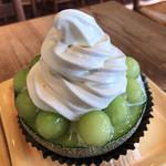 マルフジ - 料理写真:★★★★ メロンボール+ソフトクリーム ¥1,600 美味し!