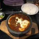 日本焼肉党 - 牛タンシチュー定食1200円