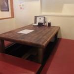 炭焼きBAR MIYAICHI - 店内座席