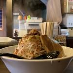 中華蕎麦 圭151 - 料理写真:横から