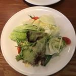 ボッチデビッラ - パスタランチのサラダ