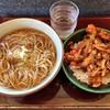 文殊 - 料理写真:そば定食(ミニ天丼)
