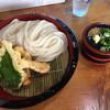 うどんや まるちゃん - 料理写真:ミックスざる天の大盛り1200円です