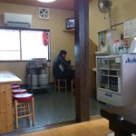 ひかり食堂 - カウンター席