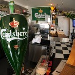 カフェレオン - 大好きなカールスバーグがあった。。。それも生ビール!