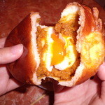 ブルーマロン - とり~り半熟卵カレー②