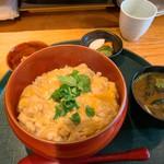 一粋 - 料理写真:親子丼