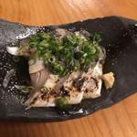 銀乃介 - 炙りしめ鯖です