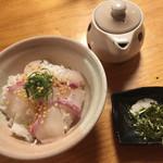 銀乃介 - 鳴門鯛の出汁茶漬けです