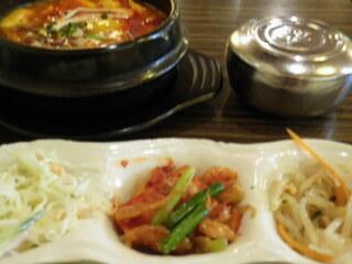 韓国家庭料理ジャンモ 津田沼パルコ店 - ランチ@スンドゥブ850円