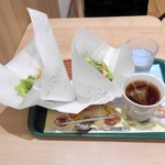 107141515 - 菜摘モス野菜と菜摘チキンとホットレモンティー
