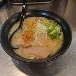 ラーメン こんじき - 鶏白湯ラーメン(塩)
