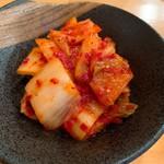 炭火焼肉・ホルモン焼 真ちゃん - 白菜キムチ