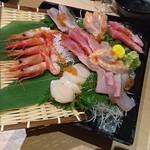 名古屋コーチン専門個室居酒屋 三河邸 - 極上鮮魚のお造り ~贅沢海鮮盛り合わせ~