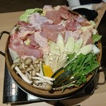 107146984 - 極旨名古屋コーチン蒸篭鍋 ~極上地鶏を贅沢にご堪能~