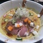 さわだの担々麺 - 料理写真:冷やしココナッツカレー坦々麺  840円