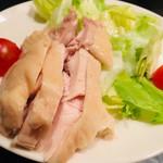 107150655 - 上海伝統 蒸し鶏の紹興酒風味サラダ