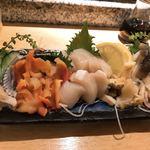 魚がし鮨 - 貝刺身盛