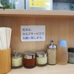 武蔵家 - 薬味たち