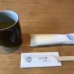 京うどん 生蕎麦 岡北 - セッティング
