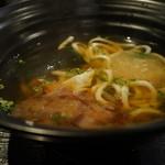 つるとんたん - 紀州 梅干のおうどん(¥880)