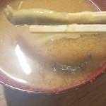 大衆酒場カネス - ドジョウ汁