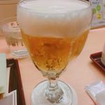 新宿 立吉 - ドリンク写真:生ビール