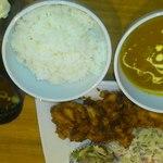 ポロロッカ - 料理写真:スタミナ唐揚げ定食