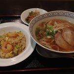 彩菜 - 料理写真:チャーハン ラーメンセット